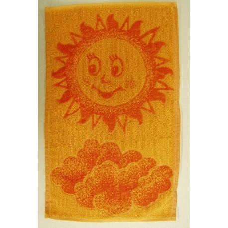 Dětský ručník Sluníčko (oranžové)