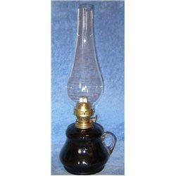 Petrolejová lampa 8''' (tmavě šedý zvonek)