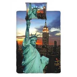 Povlečení fototisk New York night 140x200, 70x90 cm