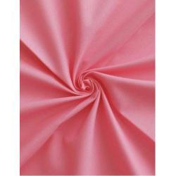 Saténové povlečení 140x200, 70x90 cm (růžové)