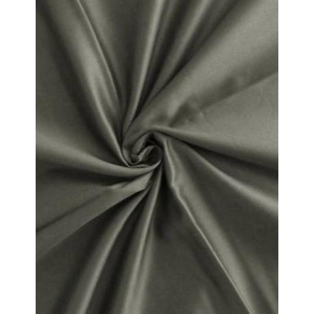 DADKA Saténové povlečení šedé 140x200, 70x90 cm