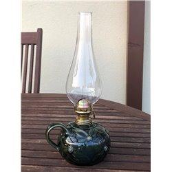 Keramická petrolejová lampa (světlý disk lampa)