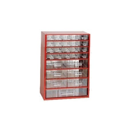 Závěsná skříňka 6720 (červená)