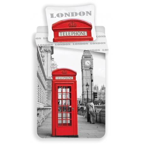 Povlečení fototisk London Telephone 140x200, 70x90 cm