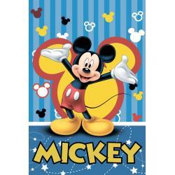 Dětská fleecová deka Mickey 2016 100x150 cm