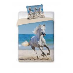 Faro Povlečení Best Friend 009 Horse bavlna 140x200 70x90