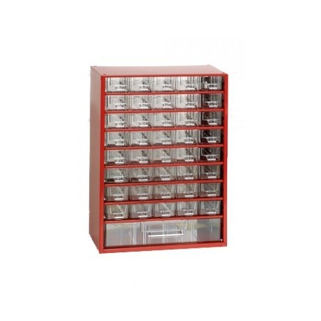 Závěsná skříňka 6703 (červená)