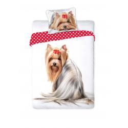 Faro Povlečení Best Friend 008 Dog bavlna 140x200 70x90