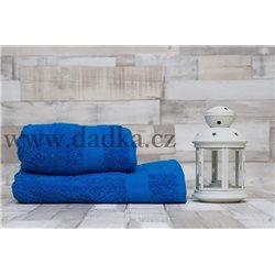 Ručník Bade 50x90 cm modrý