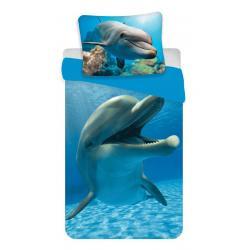 Povlečení fototisk Delfín 140x200, 70x90 cm
