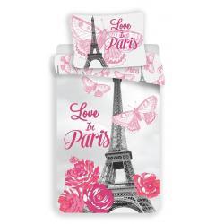 Povlečení fototisk Paris flowers 140x200, 70x90 cm