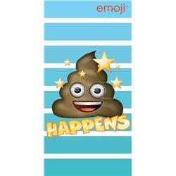 """Dětská osuška Emoji """"Happens"""""""