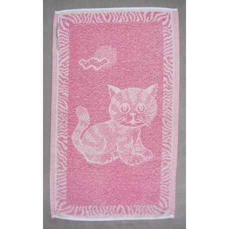 Dětský ručník Kotě (růžové)