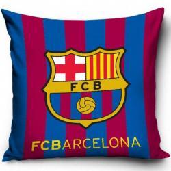 Dětský povlak na polštářek FC Barcelona proužky