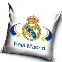 Dětský polštářek Real Madrid White 40x40 cm