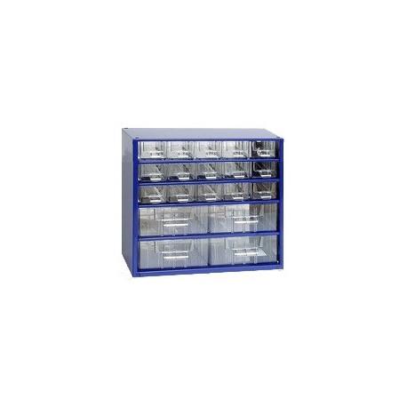 Závěsná skříňka 6763 (modrá)