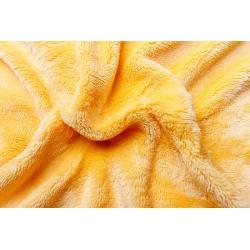 Prostěradlo mikroflanel žluté 90x200x20 cm
