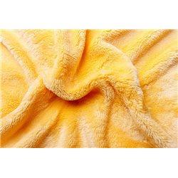 Prostěradlo mikroflanel žluté 180x200x20 cm