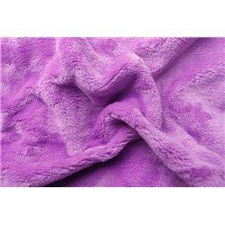 Prostěradlo mikroflanel fialová 180x200x20 cm