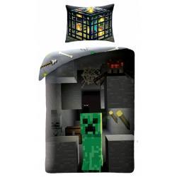Dětské povlečení Minecraft Creeper