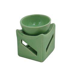 Keramická aromalampa (světle zelená)