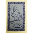 Dětský ručník Slůně (modré)