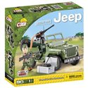 Stavebnice Small Army Jeep Willys MB zelený