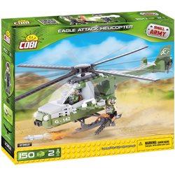 COBI Small Army stavebnice Eagle útočná helikoptéra
