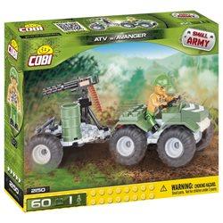 COBI Small Army stavebnice ATV s avangerem