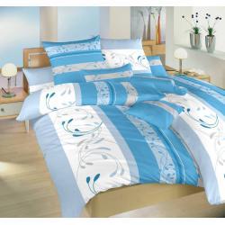 Povlečení bavlna Slezsko modré 140x200, 70x90 cm