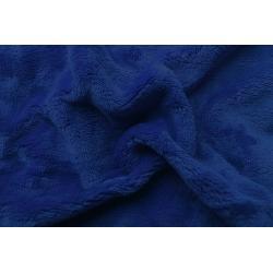 Prostěradlo mikroflanel tmavě modrá 90x200x20 cm