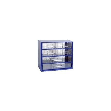 Závěsná skříňka 6768 (modrá)
