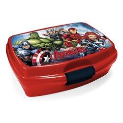 Dětský box na svačinu Avengers (červený)