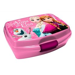 Dětský box na svačinu Frozen (růžový)