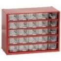 Závěsná skříňka 6742 (červená)