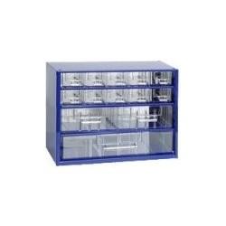 MARS SVRATKA 6761 skříňka 3 - modrá