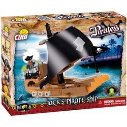 COBI Stavebnice Pirates Jackova pirátská loď