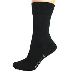 Společenské ponožky se stříbrem nanosilver L 43/46 (černé)