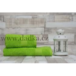 Ručník Bade 50x90 cm zelený