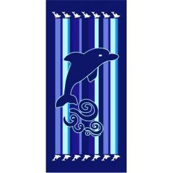 JAHU Osuška Delfín pruhy 70x150 cm