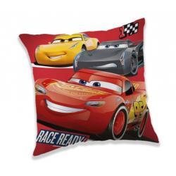 JERRY FABRICS Polštářek Cars 3 Race Ready 40x40 cm