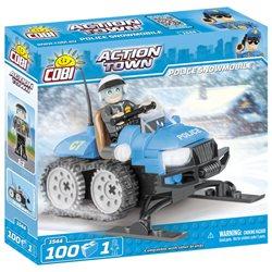 COBI Action Town stavebnice Policejní sněžný skůtr