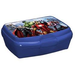 Dětský box na svačinu Avengers (modrý)