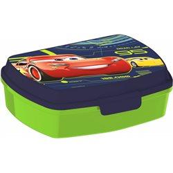 Dětský box na svačinu Cars (zelený)