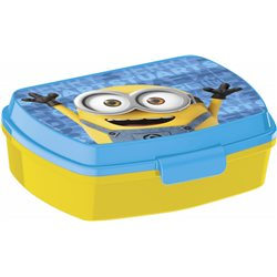 Dětský box na svačinuv Mimoni (žlutý)