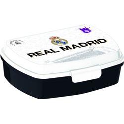 Dětský box na svačinu Real Madrid (černý)
