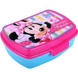 Dětský box na svačinu Minnie (modrý)