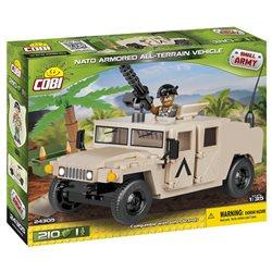 Stavebnice Small Army Humvee pouštní