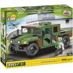 Stavebnice Small Army Humvee zelený