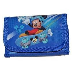 Dětská peněženka Mickey Mouse (modrá)